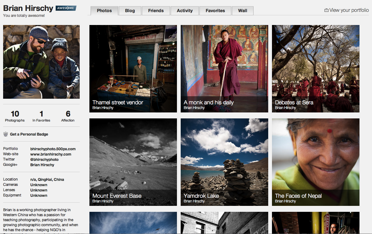 Flickr vs 500px   Brian Hirschy Photography