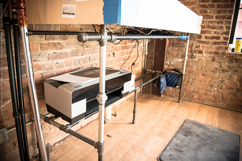 Pipe Standing Desk Brian Hirschy Photography
